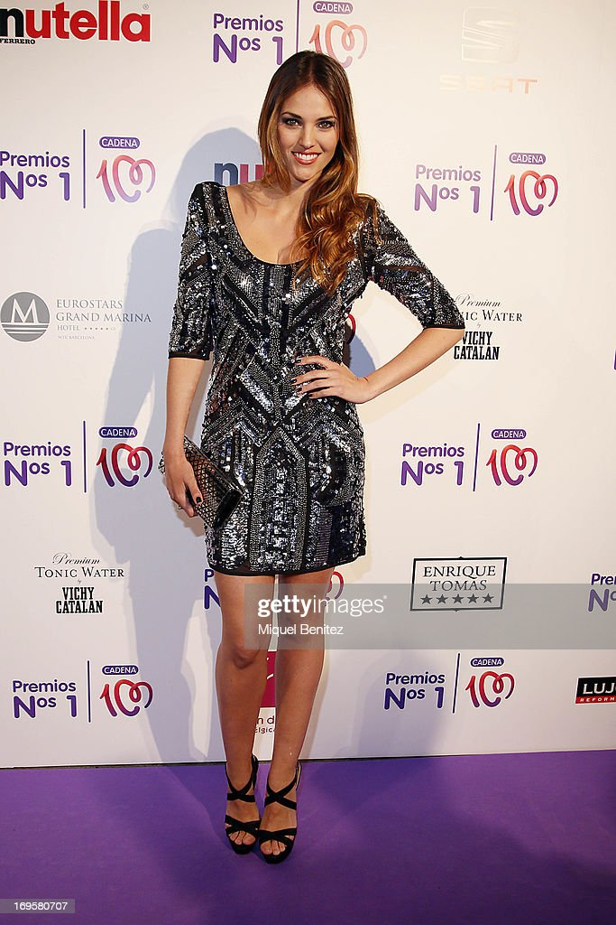 Helen Lindes poses at the photocall of 'Cadena 100 Number 1 Awards 2013' on May 27, 2013 in Barcelona, Spain.