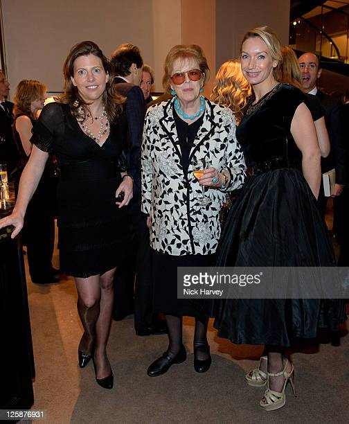 Helen MacIntyre Lady Antonia Fraser and Lisa Hilton attend book launch party for Simon Sebag Montefiore's latest book 'Jerusalem the Biography a...