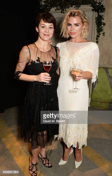 Helen McCrory and Billie Piper attend the Bright Young Things Gala 2014 a Young Patrons of the National Theatre gala event in support of emerging...