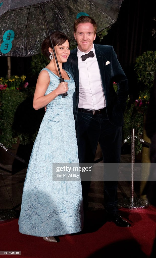 <a gi-track='captionPersonalityLinkClicked' href=/galleries/search?phrase=Helen+McCrory&family=editorial&specificpeople=214616 ng-click='$event.stopPropagation()'>Helen McCrory</a> and <a gi-track='captionPersonalityLinkClicked' href=/galleries/search?phrase=Damian+Lewis&family=editorial&specificpeople=206939 ng-click='$event.stopPropagation()'>Damian Lewis</a> attend the after party for the EE British Academy Film Awards at Grosvenor House, on February 10, 2013 in London, England.