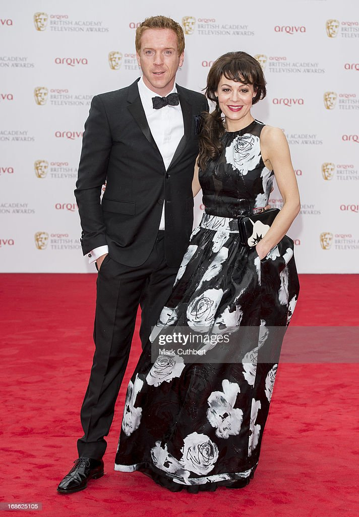 <a gi-track='captionPersonalityLinkClicked' href=/galleries/search?phrase=Helen+McCrory&family=editorial&specificpeople=214616 ng-click='$event.stopPropagation()'>Helen McCrory</a> and <a gi-track='captionPersonalityLinkClicked' href=/galleries/search?phrase=Damian+Lewis&family=editorial&specificpeople=206939 ng-click='$event.stopPropagation()'>Damian Lewis</a> attend the Arqiva British Academy Television Awards 2013 at the Royal Festival Hall on May 12, 2013 in London, England.