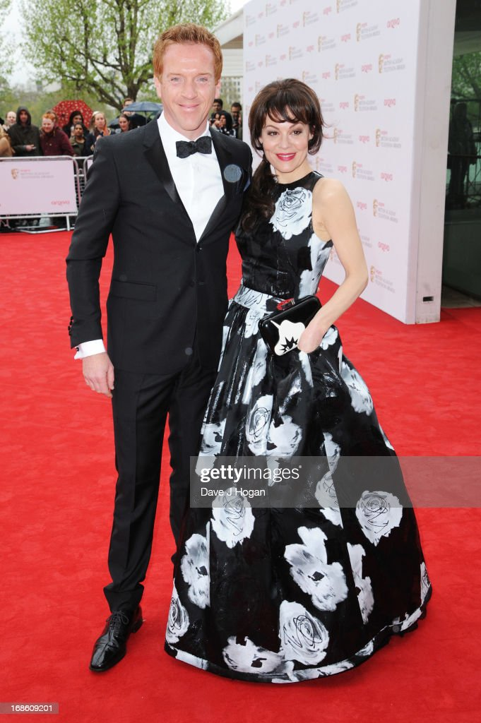 Helen McCrory and Damian Lewis attend the BAFTA TV Awards 2013 at The Royal Festival Hall on May 12, 2013 in London, England.