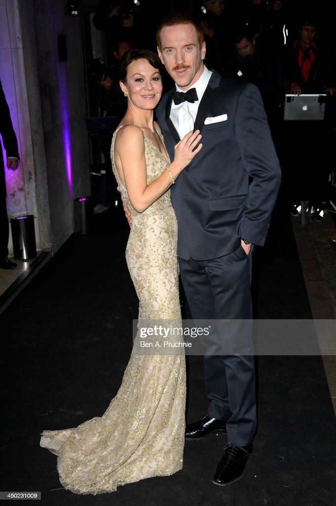 <a gi-track='captionPersonalityLinkClicked' href=/galleries/search?phrase=Helen+McCrory&family=editorial&specificpeople=214616 ng-click='$event.stopPropagation()'>Helen McCrory</a> and <a gi-track='captionPersonalityLinkClicked' href=/galleries/search?phrase=Damian+Lewis&family=editorial&specificpeople=206939 ng-click='$event.stopPropagation()'>Damian Lewis</a> attend the Evening Standard Theatre Awards at The Savoy Hotel on November 17, 2013 in London, England.