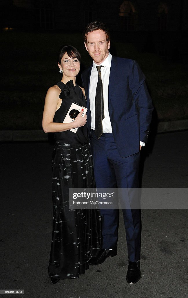 Helen McCrory and Damian Lewis attend the London Evening Standard British Film Awards at the London Film Museum on February 4, 2013 in London, England.