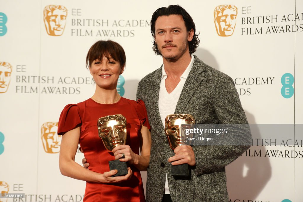 <a gi-track='captionPersonalityLinkClicked' href=/galleries/search?phrase=Helen+McCrory&family=editorial&specificpeople=214616 ng-click='$event.stopPropagation()'>Helen McCrory</a> and Luke Evans attend the nominations photocall for the EE British Academy Film Awards at BAFTA on January 8, 2014 in London, England.