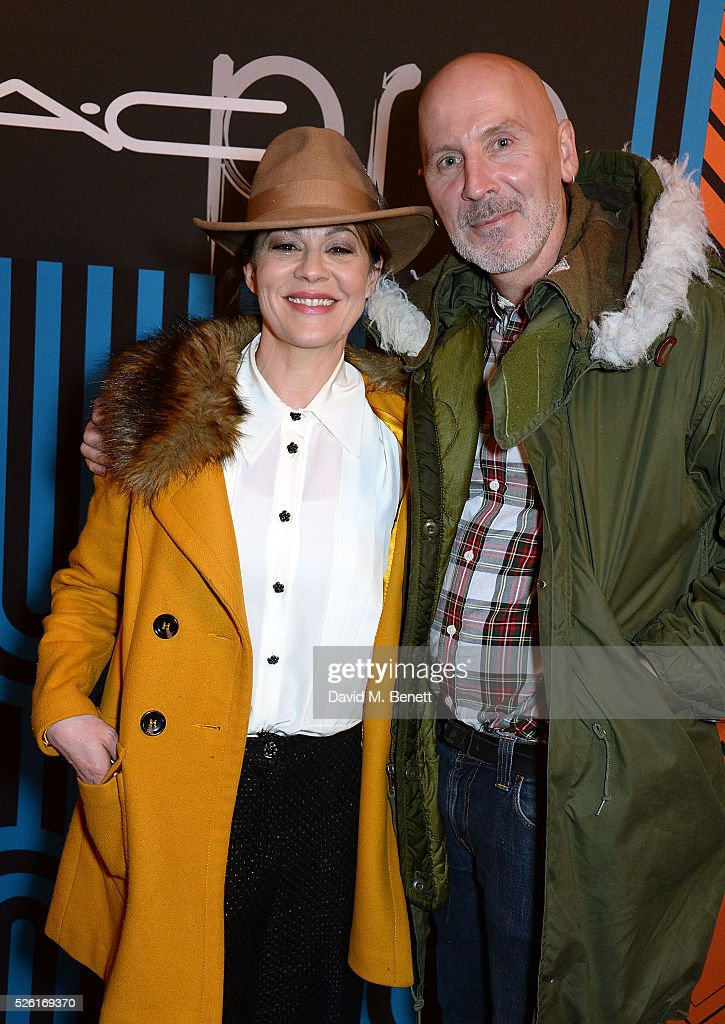 <a gi-track='captionPersonalityLinkClicked' href=/galleries/search?phrase=Helen+McCrory&family=editorial&specificpeople=214616 ng-click='$event.stopPropagation()'>Helen McCrory</a> and Terry Barber attend the MAC Pro to Pro Textile Party at London's Camden Roundhouse on April 29, 2016 in London, England.