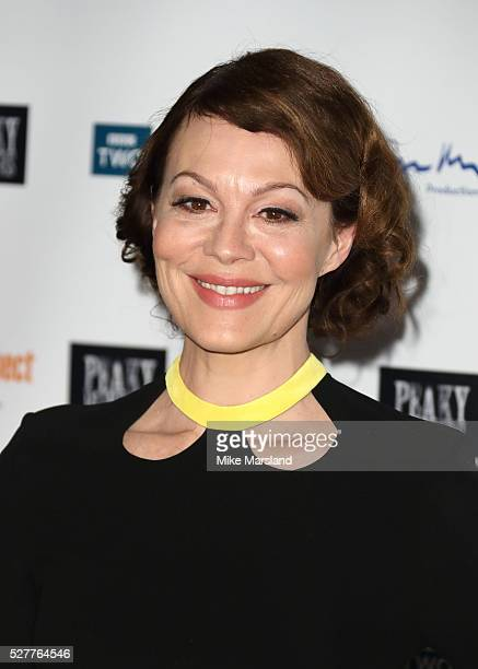 Helen McCrory attends BBC Two's drama 'Peaky Blinders' UK premiere screening of episode one series three at BFI Southbank on May 3 2016 in London...