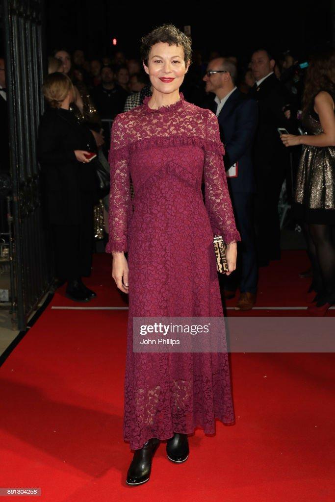 Helen McCrory attends the 61st BFI London Film Festival Awards on October 14, 2017 in London, England.