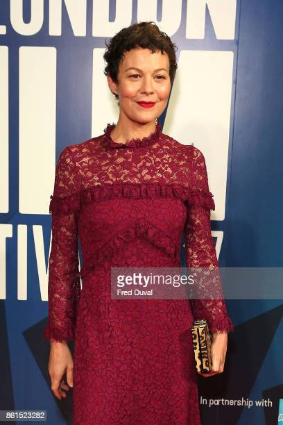 Helen McCrory attends the 61st BFI London Film Festival Awards on October 14 2017 in London England