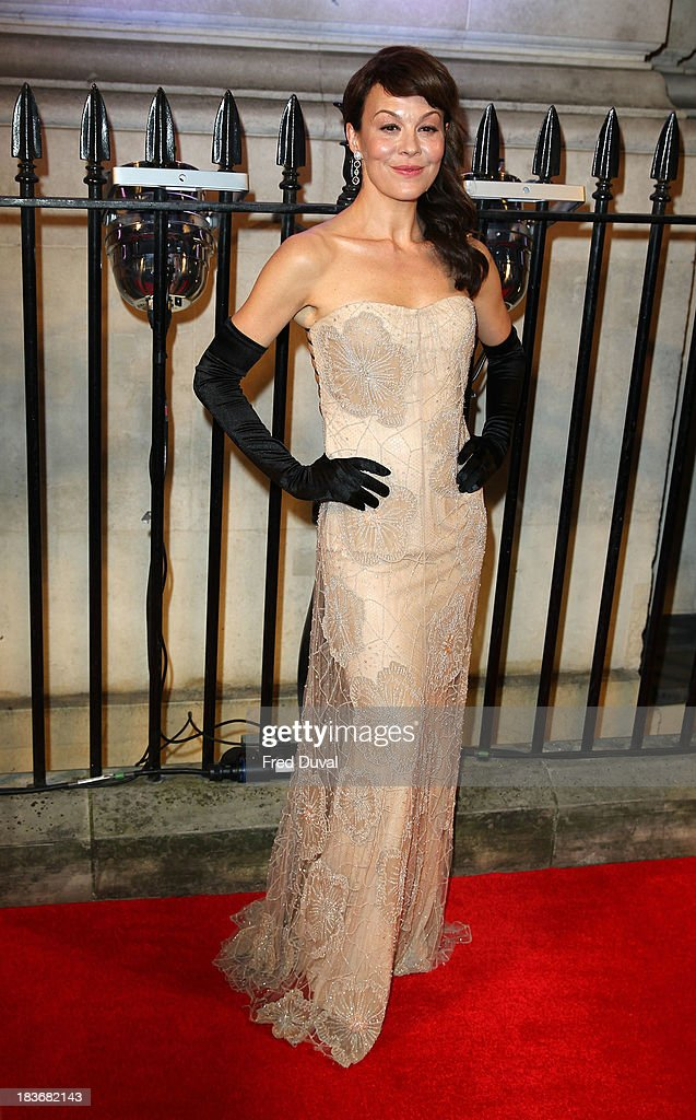 <a gi-track='captionPersonalityLinkClicked' href=/galleries/search?phrase=Helen+McCrory&family=editorial&specificpeople=214616 ng-click='$event.stopPropagation()'>Helen McCrory</a> attends the BFI Gala Dinner at 8 Northumberland Avenue on October 8, 2013 in London, England.