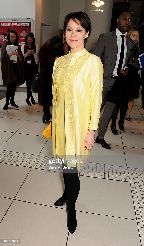 Helen McCrory attends The Prince's Trust & Samsung Celebrate Success Awards at Odeon Leicester Square on March 26, 2013 in London, England.