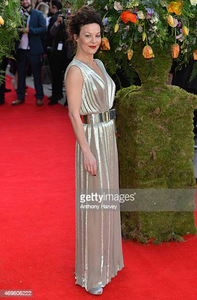 Helen McCrory attends the UK premiere of 'A Little Chaos' at ODEON Kensington on April 13 2015 in London England
