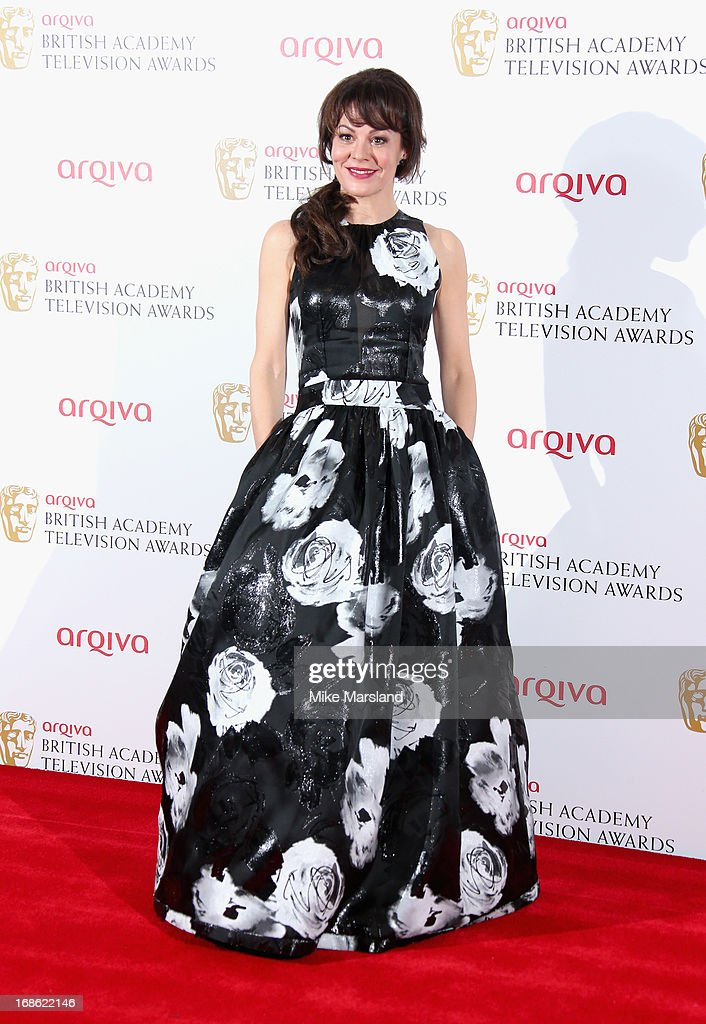 Helen McCrory during the Arqiva British Academy Television Awards 2013 at the Royal Festival Hall on May 12, 2013 in London, England.