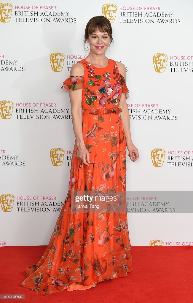 <a gi-track='captionPersonalityLinkClicked' href=/galleries/search?phrase=Helen+McCrory&family=editorial&specificpeople=214616 ng-click='$event.stopPropagation()'>Helen McCrory</a> poses in the winners room at the House Of Fraser British Academy Television Awards 2016 at the Royal Festival Hall on May 8, 2016 in London, England.
