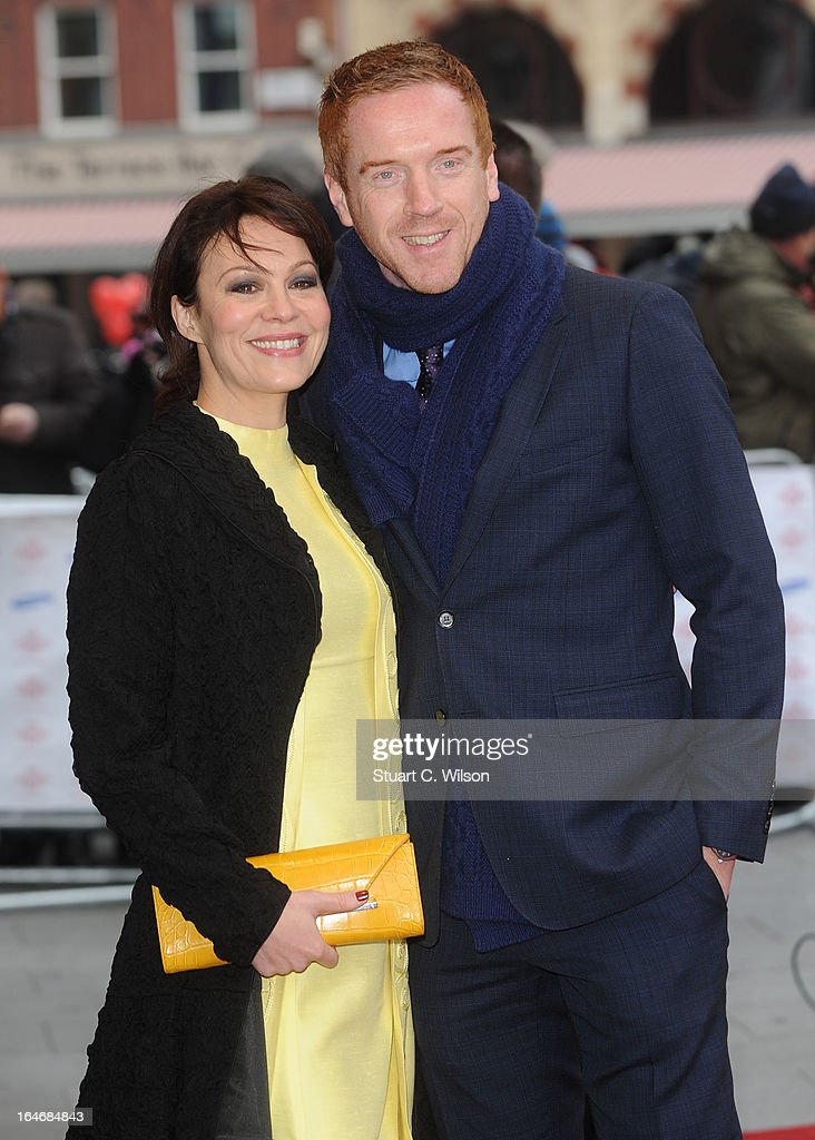 Helen McRory and <a gi-track='captionPersonalityLinkClicked' href=/galleries/search?phrase=Damian+Lewis&family=editorial&specificpeople=206939 ng-click='$event.stopPropagation()'>Damian Lewis</a> attend the Prince's Trust Celebrate Success Awards at Odeon Leicester Square on March 26, 2013 in London, England.