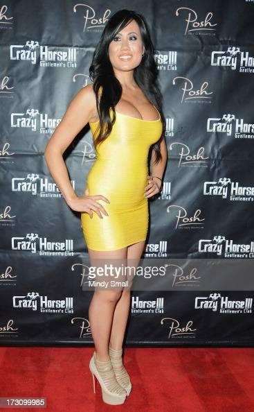 Helen Mei arrives at the Crazy Horse III Gentleman's Club on July 6 2013 in Las Vegas Nevada
