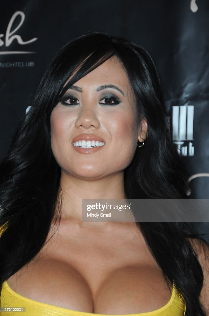 Helen Mei arrives at the Crazy Horse III Gentleman's Club on July 6, 2013 in Las Vegas, Nevada.