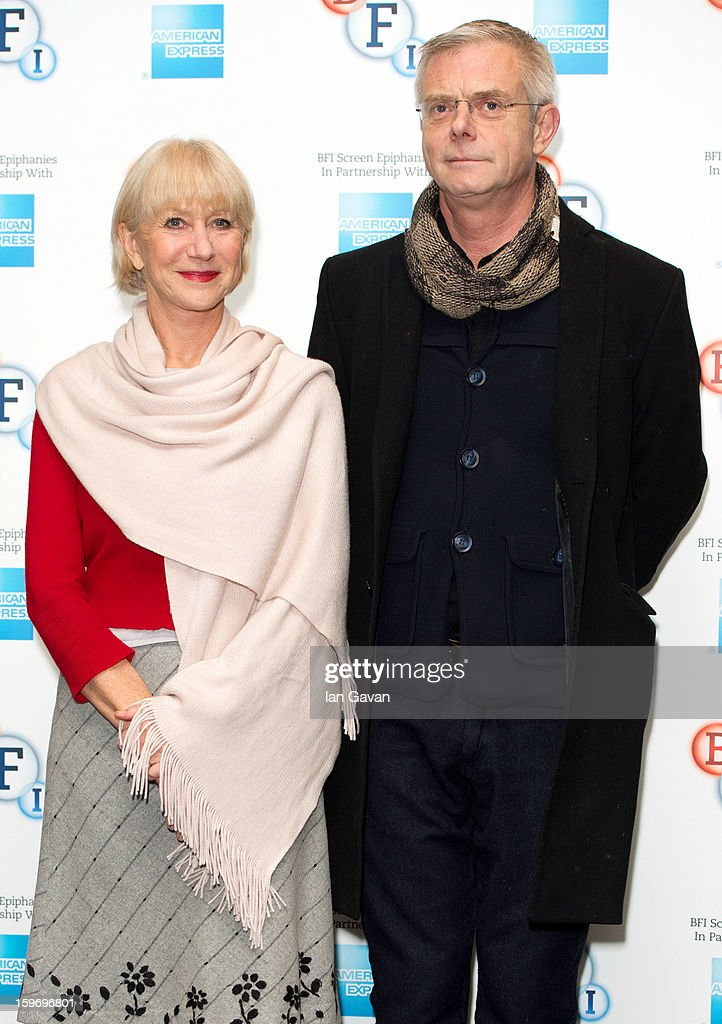 <a gi-track='captionPersonalityLinkClicked' href=/galleries/search?phrase=Helen+Mirren&family=editorial&specificpeople=201576 ng-click='$event.stopPropagation()'>Helen Mirren</a> and Stephen Daldrey attend a photocall as part of the BFI Epiphanies series, to introduce a screening of the film that inspired her - 'L'Atlante' at BFI Southbank on January 18, 2013 in London, England.