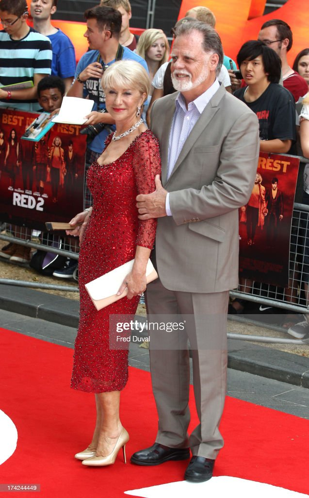 <a gi-track='captionPersonalityLinkClicked' href=/galleries/search?phrase=Helen+Mirren&family=editorial&specificpeople=201576 ng-click='$event.stopPropagation()'>Helen Mirren</a> and <a gi-track='captionPersonalityLinkClicked' href=/galleries/search?phrase=Taylor+Hackford&family=editorial&specificpeople=202623 ng-click='$event.stopPropagation()'>Taylor Hackford</a> attend the Red 2 Premiere at Empire Leicester Square on July 22, 2013 in London, England.