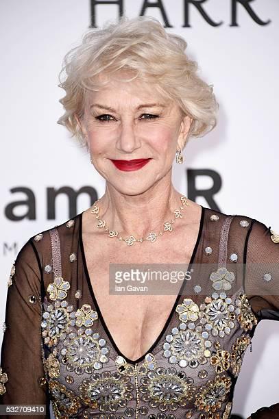 Helen Mirren arrives at amfAR's 23rd Cinema Against AIDS Gala at Hotel du CapEdenRoc on May 19 2016 in Cap d'Antibes France