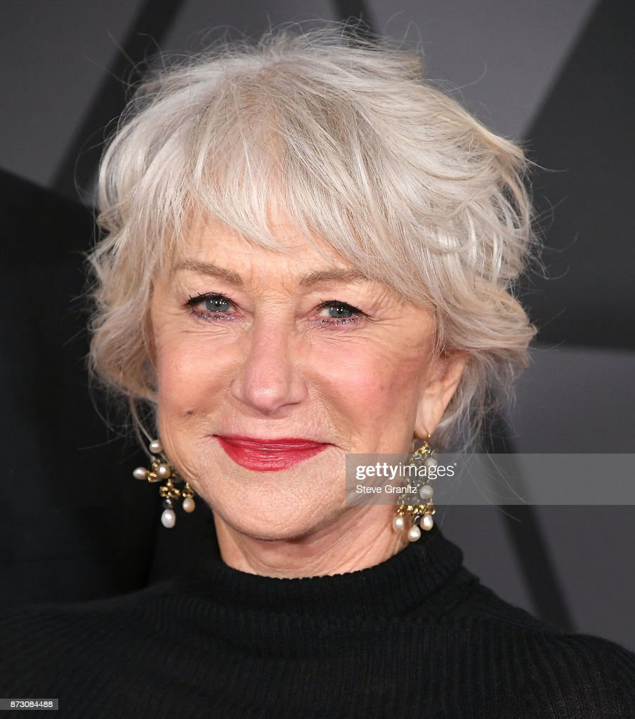Helen Mirren arrives at the Academy Of Motion Picture Arts And Sciences' 9th Annual Governors Awards at The Ray Dolby Ballroom at Hollywood & Highland Center on November 11, 2017 in Hollywood, California.
