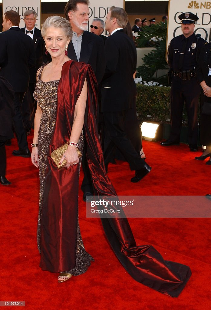 <a gi-track='captionPersonalityLinkClicked' href=/galleries/search?phrase=Helen+Mirren&family=editorial&specificpeople=201576 ng-click='$event.stopPropagation()'>Helen Mirren</a> arrives for the Golden Globe Awards at the Beverly Hilton Hotel in Beverly Hills, California January 20, 2002.