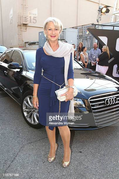 Helen Mirren at The Audi Arrivals held at The 39th AFI Life Achievement Award Honoring Morgan Freeman at Sony Pictures Studios on June 9 2011 in...