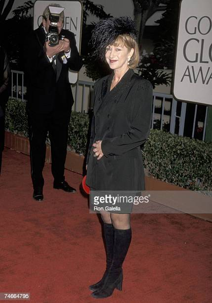 Helen Mirren at the Beverly Hilton Hotel in Beverly Hills California