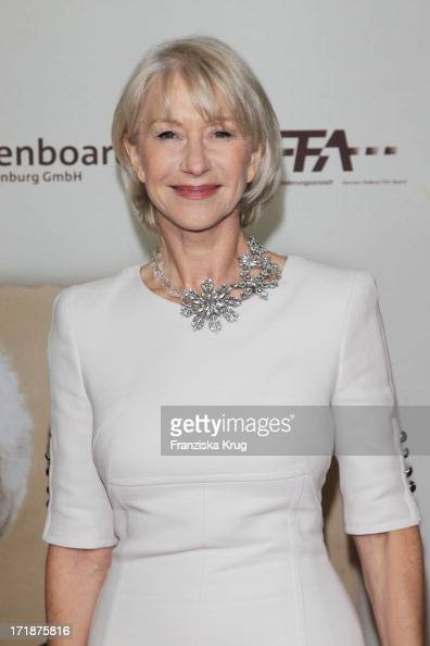 Helen Mirren at the Premiere Of The Film 'The Last Station' in Berlin
