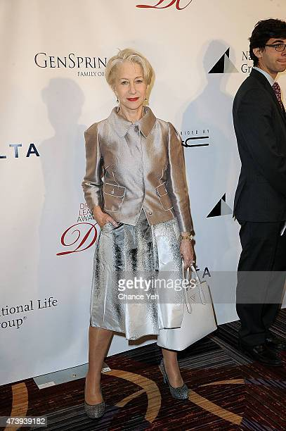 Helen Mirren attends 81st Annual Drama League Awards Ceremony And Luncheon at Marriot Marquis Times Square on May 15 2015 in New York City