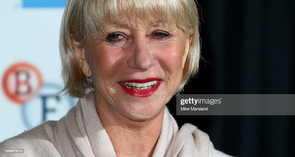 <a gi-track='captionPersonalityLinkClicked' href=/galleries/search?phrase=Helen+Mirren&family=editorial&specificpeople=201576 ng-click='$event.stopPropagation()'>Helen Mirren</a> attends a photocall as part of the BFI Epiphanies series, to introduce a screening of the film that inspired her - 'L'Atlante' at BFI Southbank on January 18, 2013 in London, England.