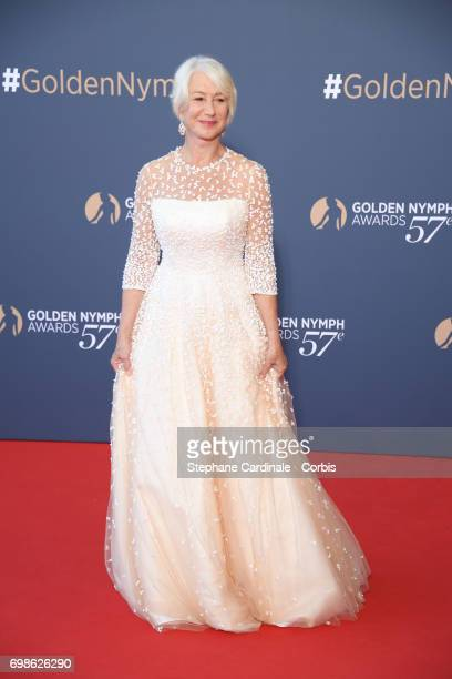 Helen Mirren attends the 57th Monte Carlo TV Festival Closing Ceremony on June 20 2017 in MonteCarlo Monaco