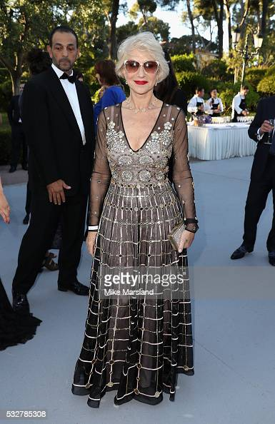 Helen Mirren attends the amfAR's 23rd Cinema Against AIDS Gala at Hotel du CapEdenRoc on May 19 2016 in Cap d'Antibes France