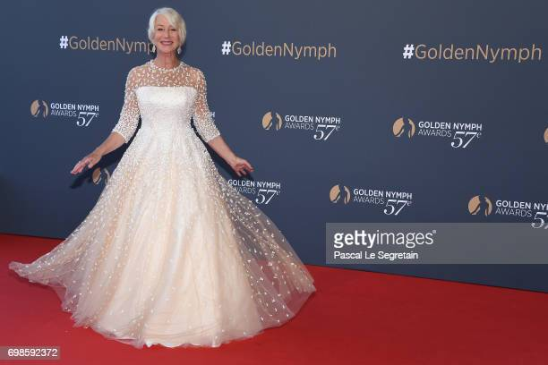 Helen Mirren attends the Closing ceremony of the 57th Monte Carlo TV Festival on June 20 2017 in MonteCarlo Monaco