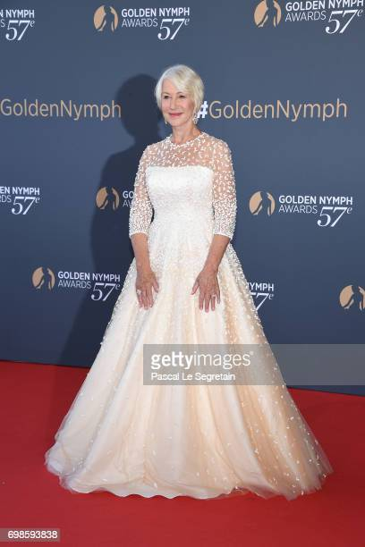 Helen Mirren attends the Closing ceremony of the 57th Monte Carlo TV Festival on June 20 2017 in MonteCarlo Monaco