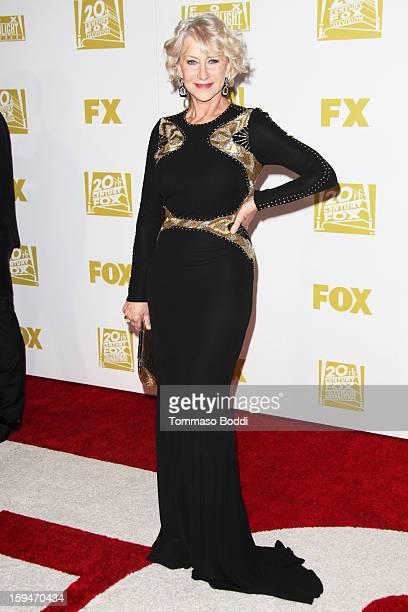 Helen Mirren attends the FOX Golden Globe after party held at the FOX Pavilion at the Golden Globes on January 13 2013 in Beverly Hills California
