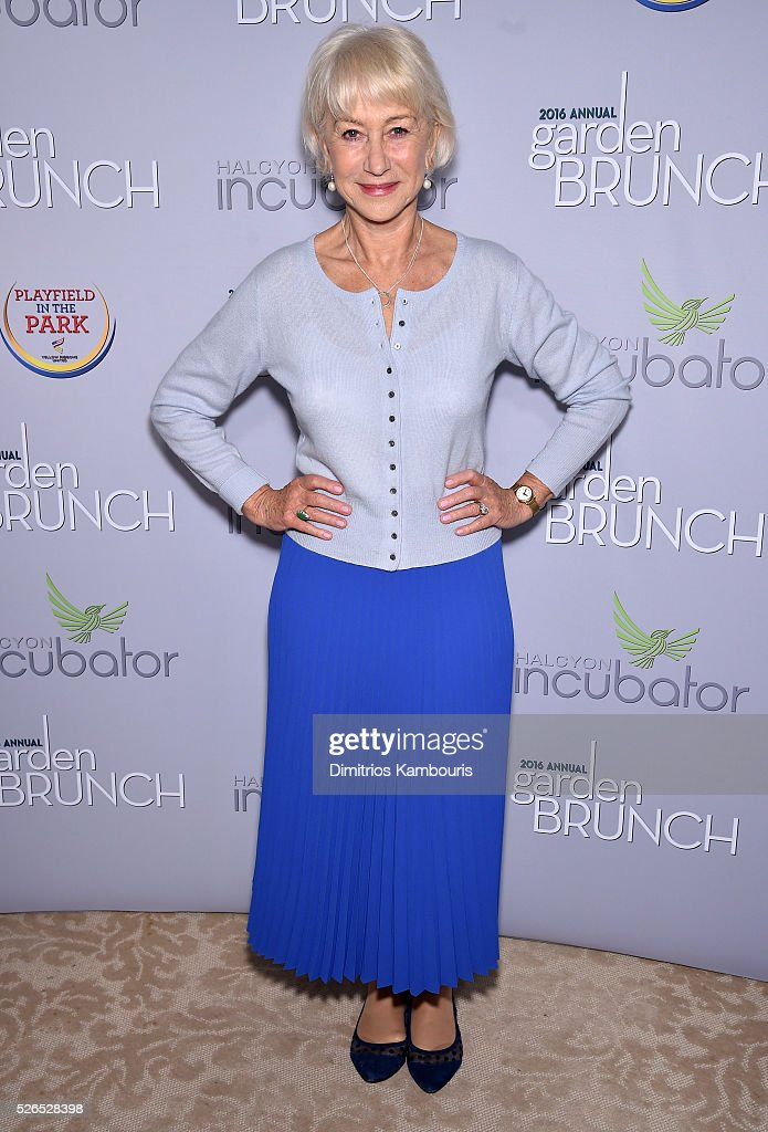 <a gi-track='captionPersonalityLinkClicked' href=/galleries/search?phrase=Helen+Mirren&family=editorial&specificpeople=201576 ng-click='$event.stopPropagation()'>Helen Mirren</a> attends the Garden Brunch prior to the 102nd White House Correspondents' Association Dinner at the Beall-Washington House on April 30, 2016 in Washington, DC.