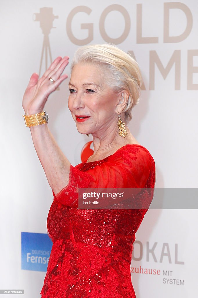 Hellen Mirren attends the Goldene Kamera 2016 on February 6, 2016 in Hamburg, Germany.