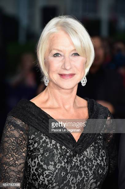 Helen Mirren attends 'The Hundred Foot Journey' Premiere on September 6 2014 in Deauville France