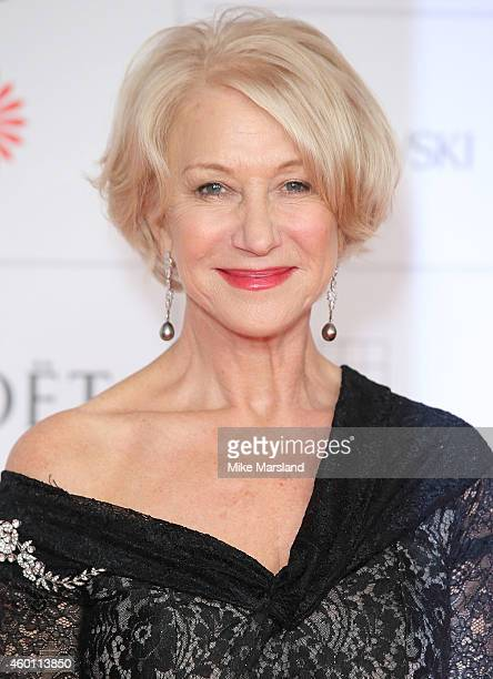 Helen Mirren attends the Moet British Independent Film Awards at Old Billingsgate Market on December 7 2014 in London England
