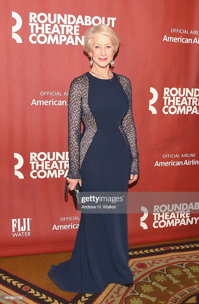 <a gi-track='captionPersonalityLinkClicked' href=/galleries/search?phrase=Helen+Mirren&family=editorial&specificpeople=201576 ng-click='$event.stopPropagation()'>Helen Mirren</a> attends the Roundabout Theatre Company's 2015 Spring Gala at the Grand Ballroom at The Waldorf=Astoria on March 2, 2015 in New York City.