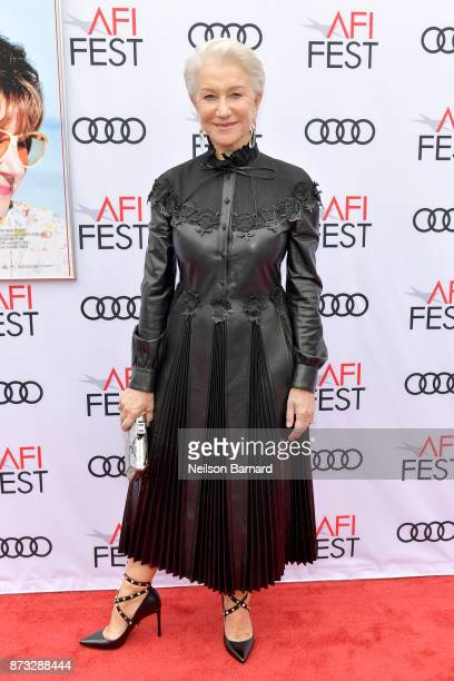 Helen Mirren attends the screening of 'The Leisure Seeker' at AFI FEST 2017 Presented By Audi at the Egyptian Theatre on November 12 2017 in...
