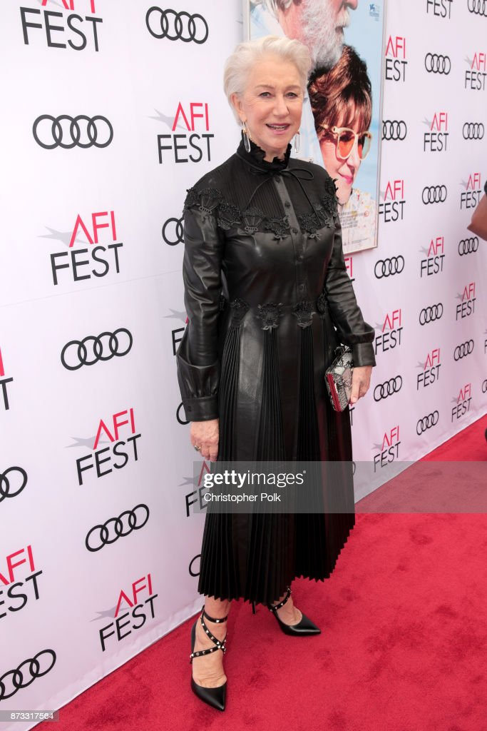 Helen Mirren attends the screening of 'The Leisure Seeker' at AFI FEST 2017 Presented By Audi at the Egyptian Theatre on November 12, 2017 in Hollywood, California.