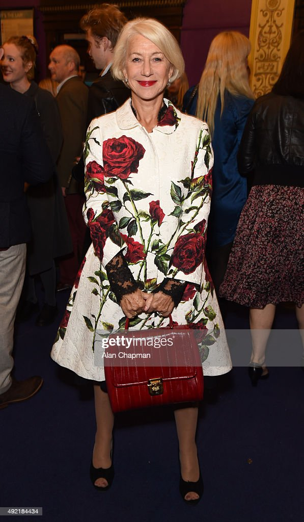 <a gi-track='captionPersonalityLinkClicked' href=/galleries/search?phrase=Helen+Mirren&family=editorial&specificpeople=201576 ng-click='$event.stopPropagation()'>Helen Mirren</a> attends the UK Premiere of 'Live From New York!' during the BFI London Film Festival at Cineworld Haymarket on October 10, 2015 in London, England.