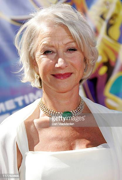 Helen Mirren during 58th Annual Primetime Emmy Awards Arrivals at Shrine Auditorium in Los Angeles California United States