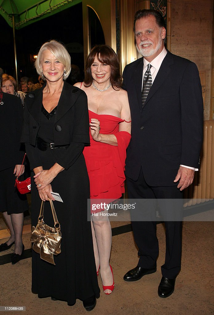 Helen Mirren Nancy Ellison and Taylor Hackford during American Ballet Theatre's Fall Season Opening Night Gala at Performance City Center in New York...