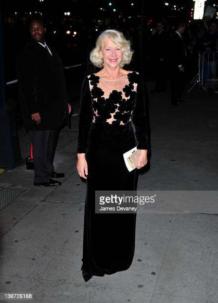 Helen Mirren sighting at Cipriani 42nd Street on January 10 2012 in New York City