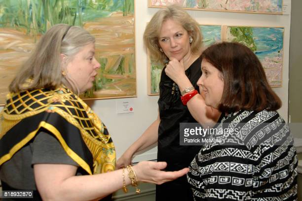 Helen Pennoyer Terri Lindvall and Lydia Spinelli attend MICHELLEMARIE HEINEMANN and TERRI LINDVALL'S Lecture and Private Dinner to benefit the...
