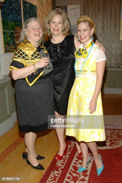 Helen Pennoyer Terri Lindvall and MichelleMarie Heinemann attend MICHELLEMARIE HEINEMANN and TERRI LINDVALL'S Lecture and Private Dinner to benefit...