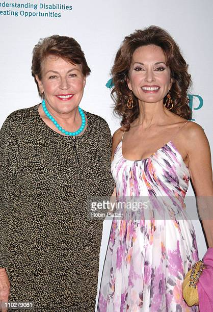 Helen Reddy and Susan Lucci during United Cerebral Palsy of New York Presents Its 'Women Who Care' Luncheon Honoring Susan Lucci at Cipriani 42nd...